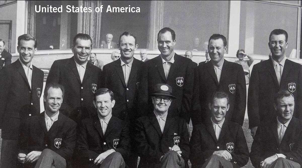 1965 - Royal Birkdale, Southport. United States of America Team. October 7th, 8th & 9th. Final Score: U.S.A. 19 1/2 - Britain & Ireland 12 1/2.