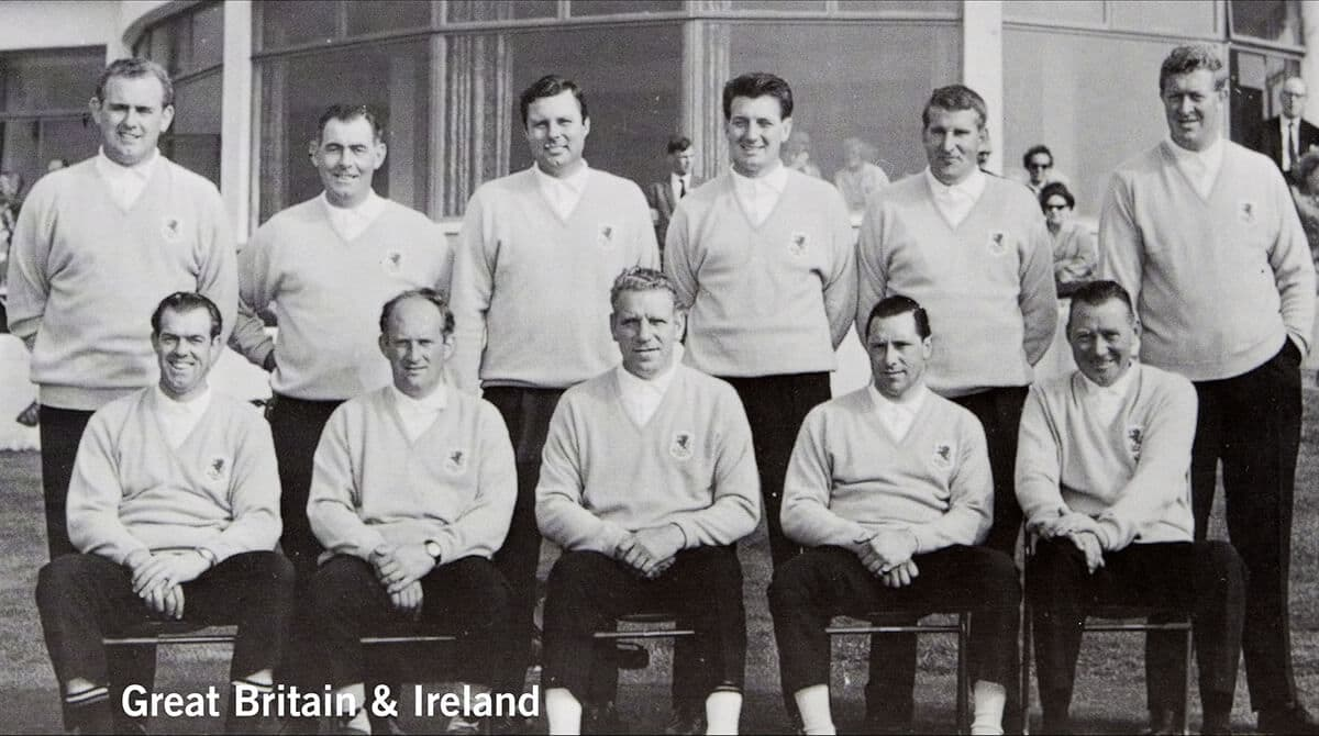 1965 - Royal Birkdale, Southport. Great Britain & Ireland Team. October 7th, 8th & 9th. Final Score: U.S.A. 19 1/2 - Britain & Ireland 12 1/2.
