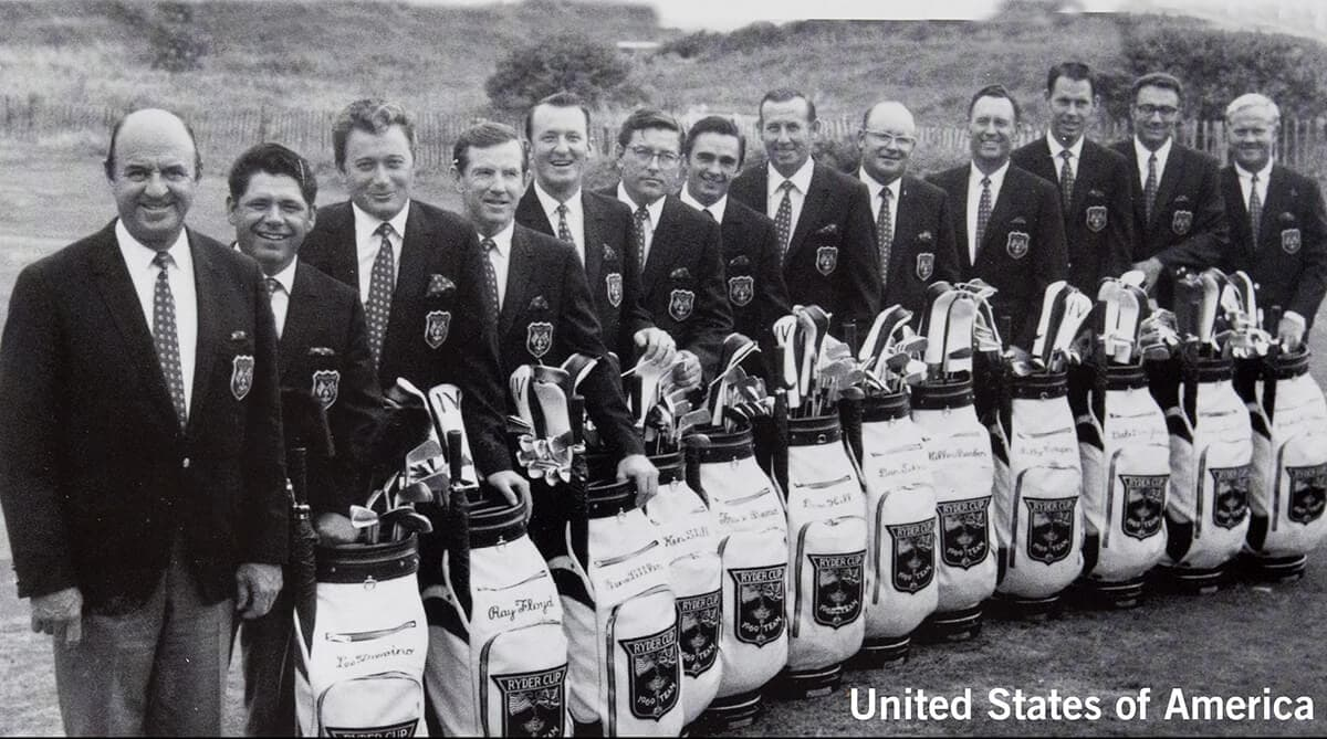 1969 - Royal Birkdale, Southport. United States of America Team. September 18th, 19th & 20th. Final Score: U.S.A. 16 - Britain & Ireland 16.