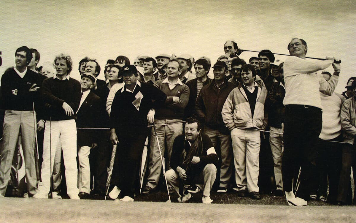 Exhibition of Golf by Christy O'Connor with Severiano, Berhard Langer & Lee Traviano.