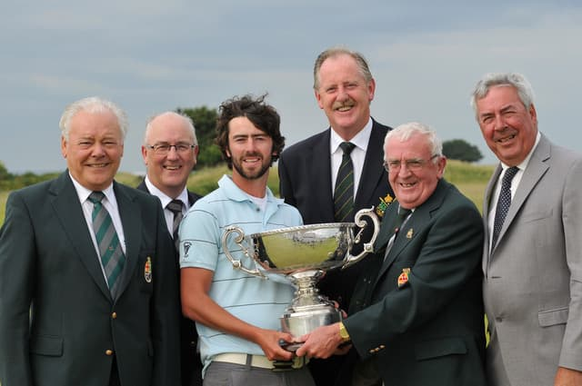 Irish Amateur Close