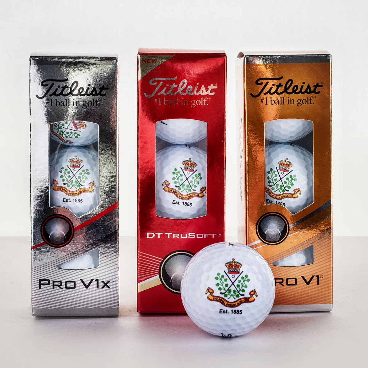 3 pack of ProV1s €19.95 (12 for €70) DT Trusoft €9.95 (12 for €30)