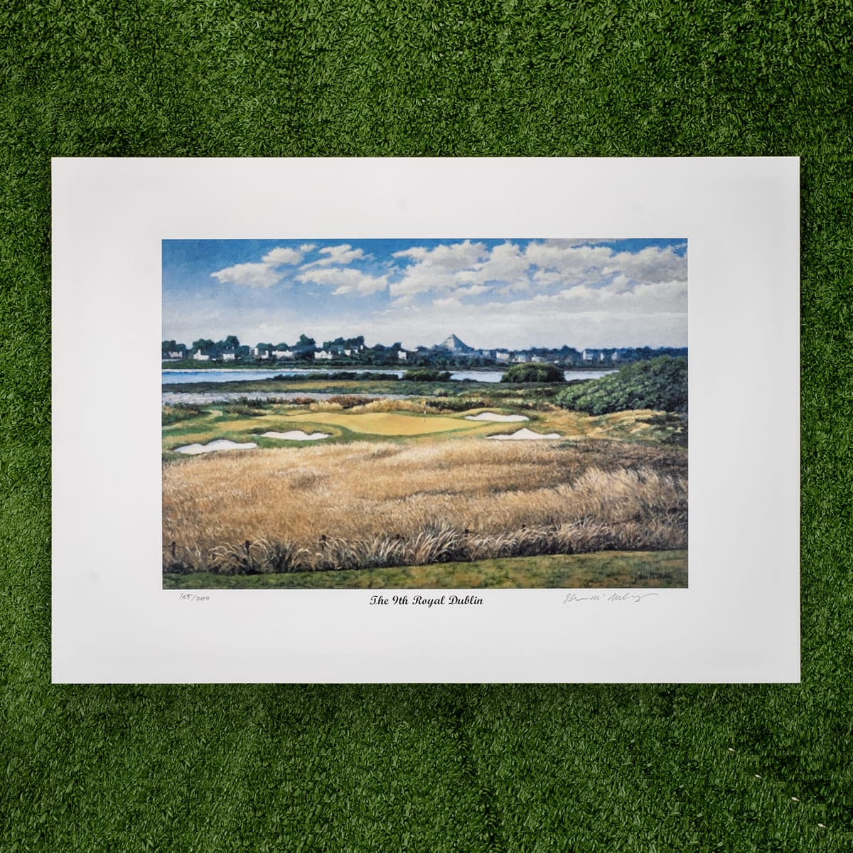 9th hole painting - €39.95 or 2 for €70