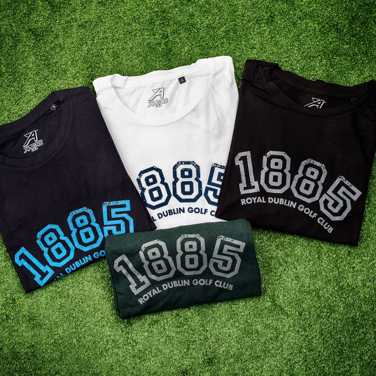 Round neck t-shirts sizes S-XXL €29.95 or 2 for €50