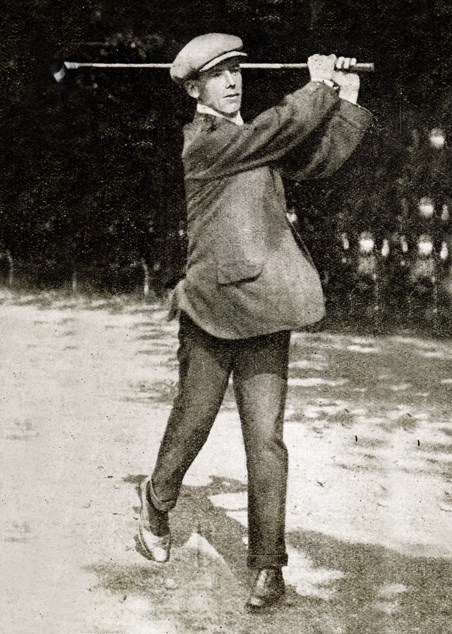 "Legendary Royal Dublin Professional Michael ""Dyke"" Moran (1909-1913)"