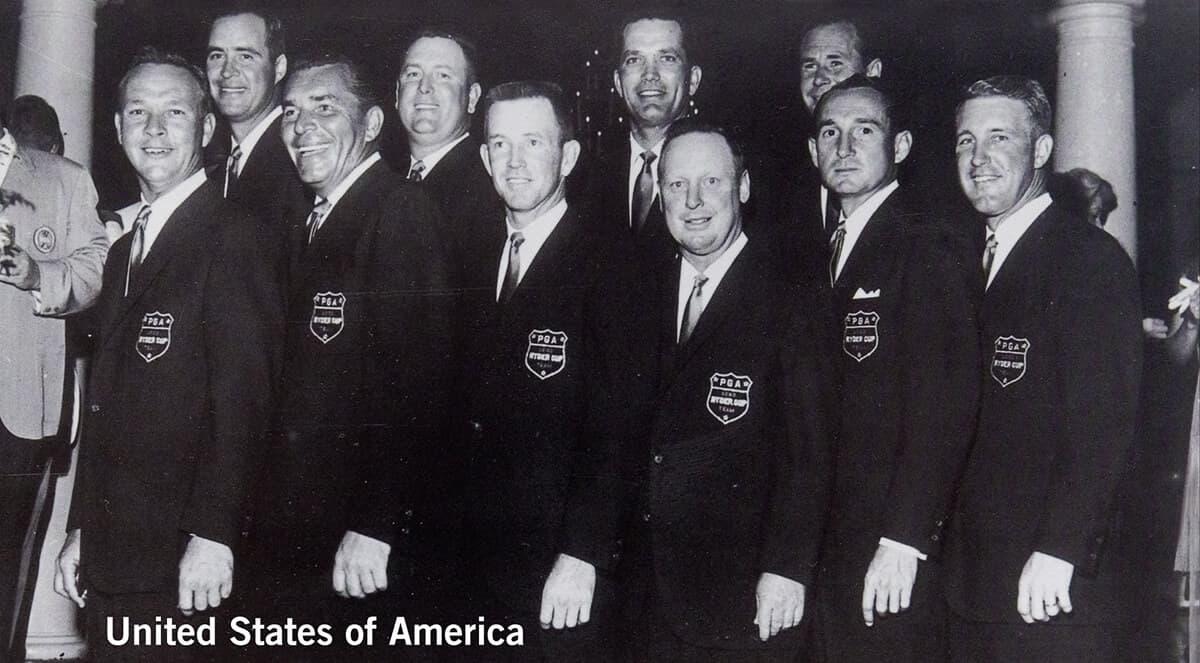 1963 - Atlanta, Georgia. United States of America Team. October 11th, 12th & 13th. Final Score: U.S.A. 23 - Britain & Ireland 9.